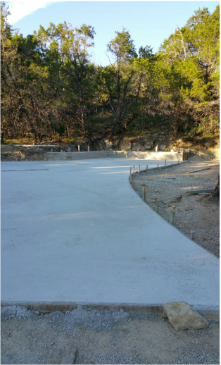 Coldwater Creek RV Park Install Concrete